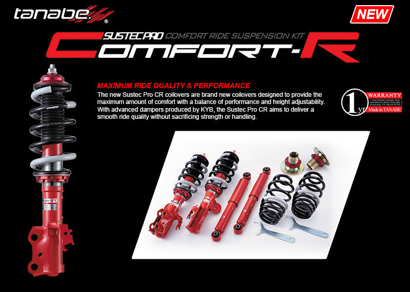 Tanabe Sustec Pro Comfort-R Coilover System - Honda/Acura Applications