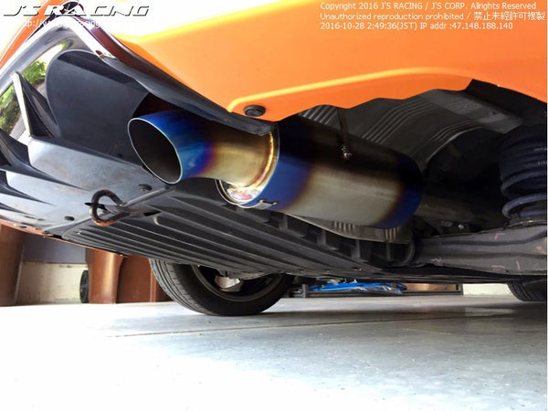 J's Racing C304 SUS Exhaust System 70RS 11-15 Civic (FG4)