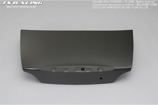 J's Racing Carbon Trunk - 00-09 S2000 (AP1/2)