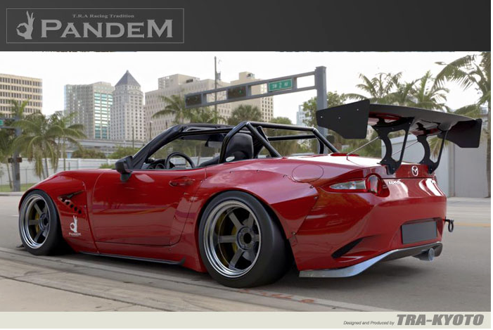 Greddy Rocket Bunny Body Kits - Mazda Applications