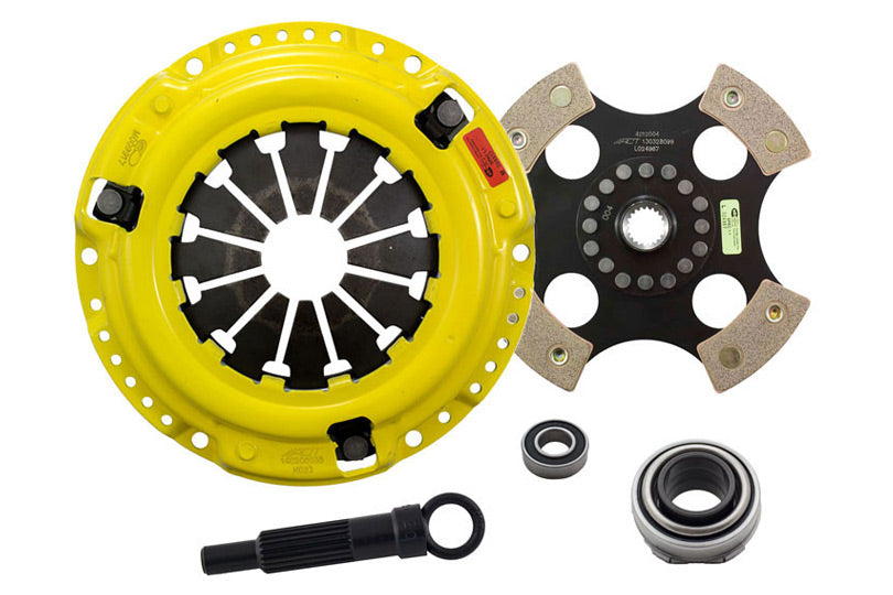 ACT Heavy Duty Pressure Plate (4 Pad Rigid) Clutch Kit - Honda / Acura Applications