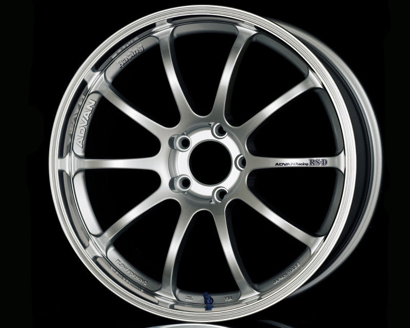 Advan RS-D Wheels - Machined Silver