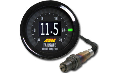 AEM Wideband UEGO Failsafe Gauge