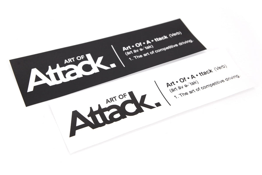 "Art of Attack ""Definition"" Slap Matte Decal"