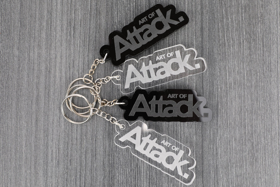 Art of Attack Acrylic Key Chain