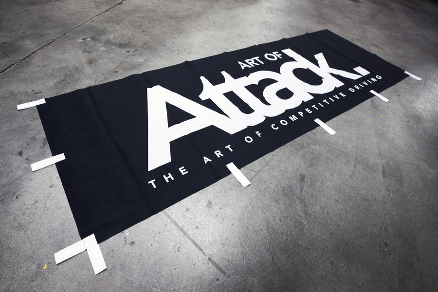 Art of Attack Nobori Flag V2