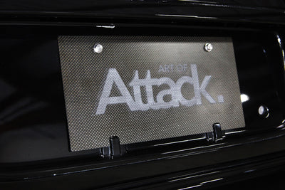 Art of Attack Carbon Track Plate