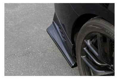 APR Performance Carbon Fiber Rear Bumper Skirts - (17+) Nissan GT-R (R35)