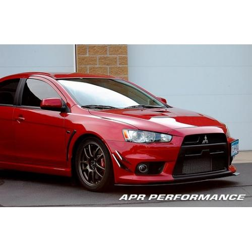 APR Performance Carbon Fiber Front Wind Splitter - 08+ Mitsubishi Evolution X