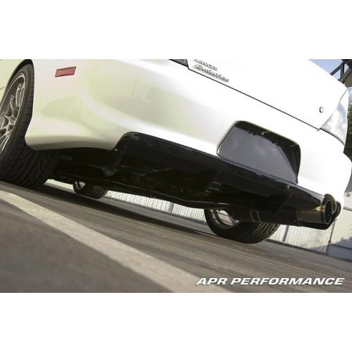 APR Performance Carbon Fiber Rear Diffuser (Fits USDM Rear Bumper Only) - Mitsubishi EVO 8/9
