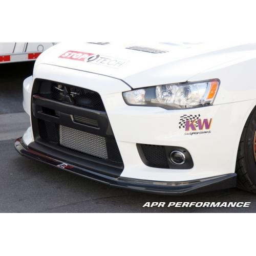 APR Performance Carbon Fiber Racing Front Lip - (2008+) Mitsubishi EVO X