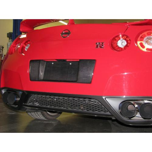 APR Performance Carbon Fiber License Plate Frame - Nissan GT-R Applications