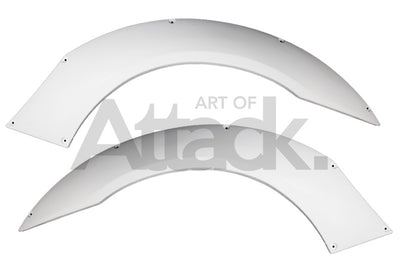ASM I.S. Design Rear Over Fenders - 00-09 S2000 (AP1/AP2)