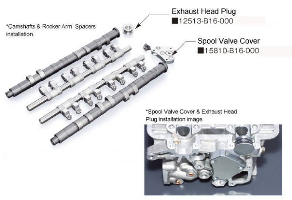 Toda Racing VTEC Killer High Power Profile Camshafts - B16A/B18C Applications