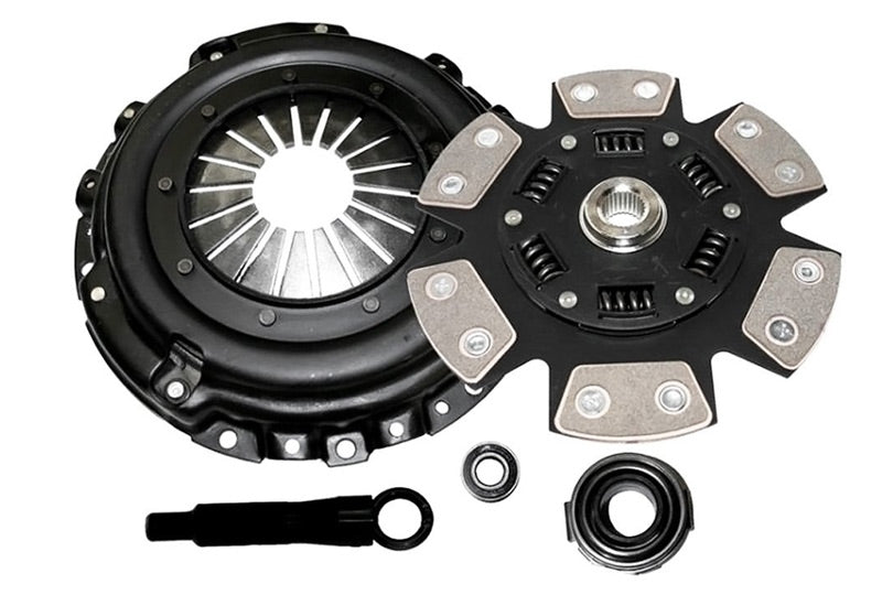 Competition Clutch Kit Stage 4 (6 Pad Ceramic) - Nissan Applications