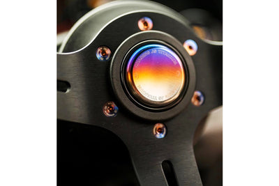 Chasing Js Titanium Steering Wheel Horn Button