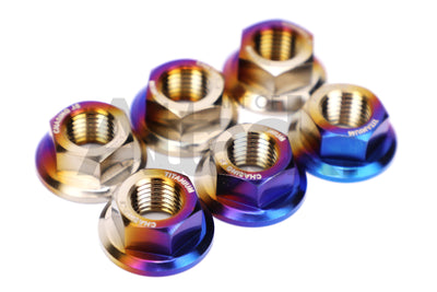 Chasing Js Titanium Strut Tower Nut Kit