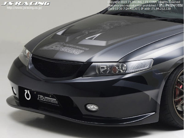 J's Racing Type-S Front Bumper - CL7 Accord