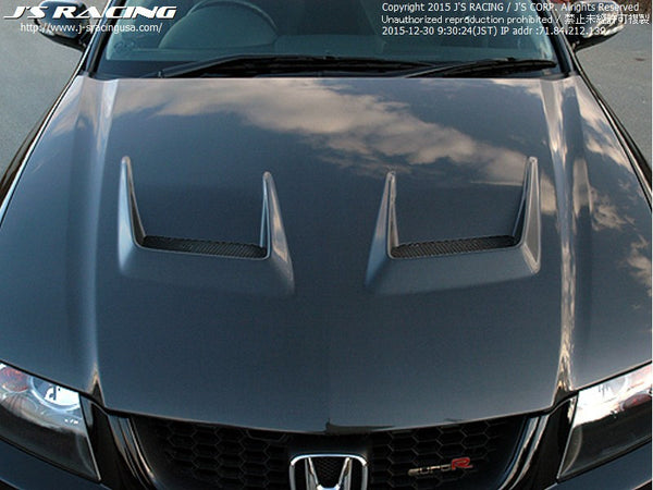 J's Racing Type-V Hood - 04-08 TSX (CL7)
