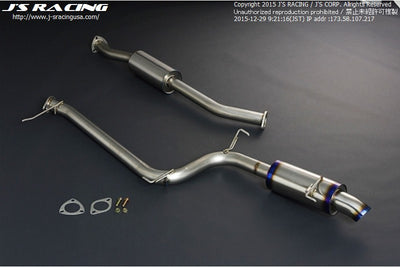 J's Racing Titanium FX-Pro Exhaust Systems - 04-08 TSX (CL7)