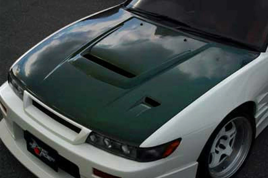 ChargeSpeed Vented Hoods - 89-94 Nissan 240SX S13 Silvia JDM