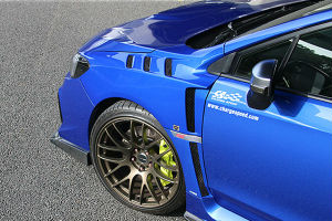 Charge Speed Vented Lower Garnish - 15-20 Subaru WRX / STI