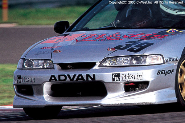 C-West Front Bumper - 94-01 Integra (DC)
