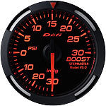 Defi 52mm Racer Series Boost (30 PSI) Gauges