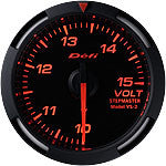 Defi 52mm Racer Series Voltage Gauges