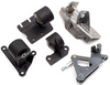Innovative Mounts Steel Mount kit - 88-91 Civic/CR-X (EF) H and F-Series Applications