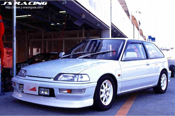 J's Racing Front Lip - 88-91 Civic/CR-X (EF8/EF9)