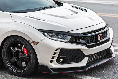 First Molding Super Aero Vented Hood (CFRP/FRP) - 2017+ Civic Type R (FK8)