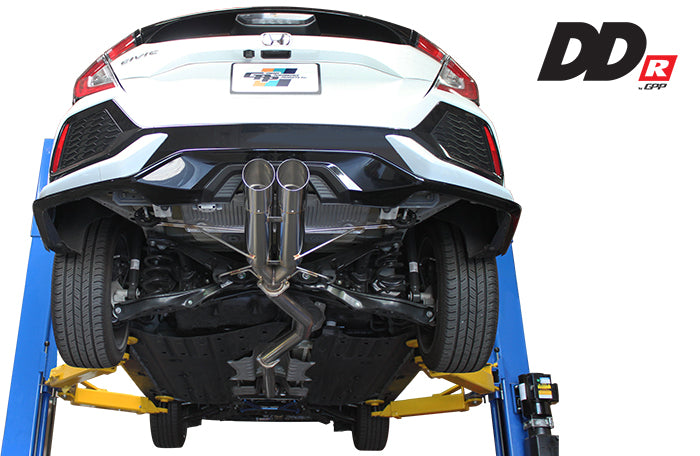 Greddy DD-R Cat-Back Exhaust System - 2016+ Civic Hatchback (FK7)