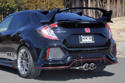 HKS Hi-Power Spec L Exhaust - 2017+ Honda Civic Type R (FK8)