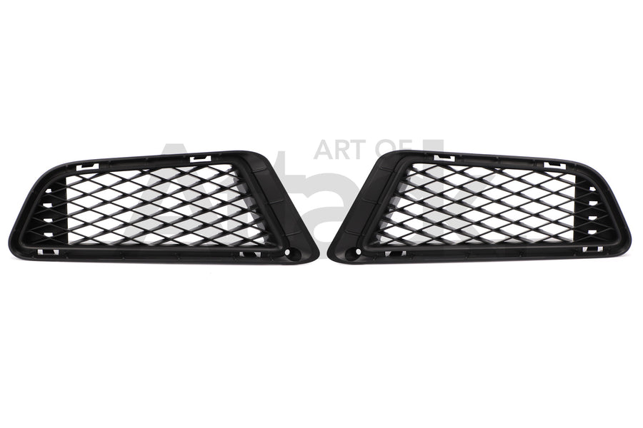 Honda OEM Lower Foglight Mesh Covers - 06-11 Civic Type R (FD2)
