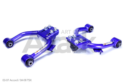 HardRace Front Upper Control/Camber Arms - Honda/Acura Applications