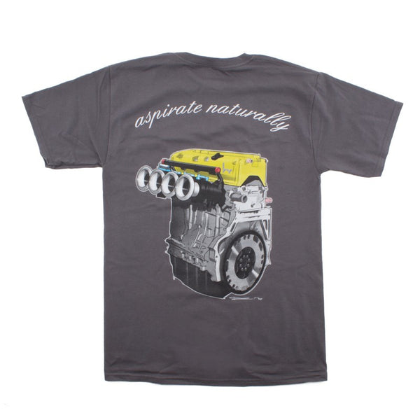 "Hybrid Racing ""Aspirate Naturally"" T-Shirt"