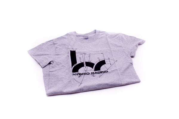 Hybrid Racing Dimensions T-Shirt (Grey)