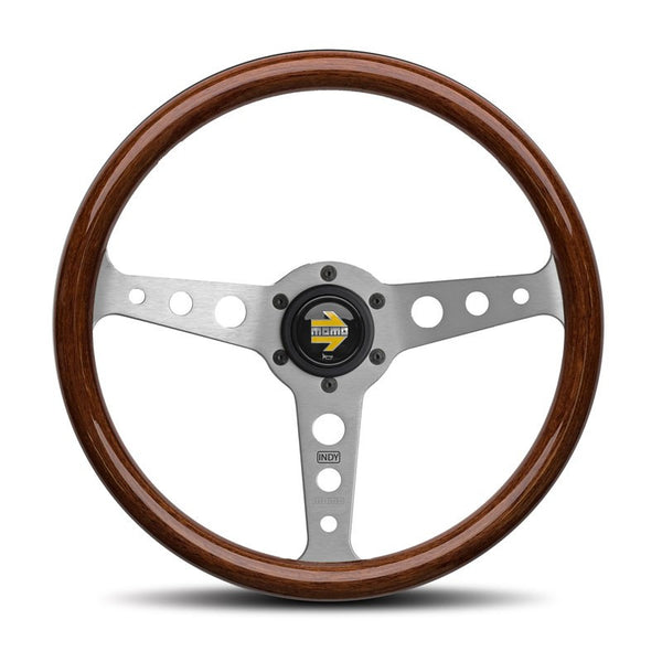 Momo Indy 350mm Wooden Steering Wheel