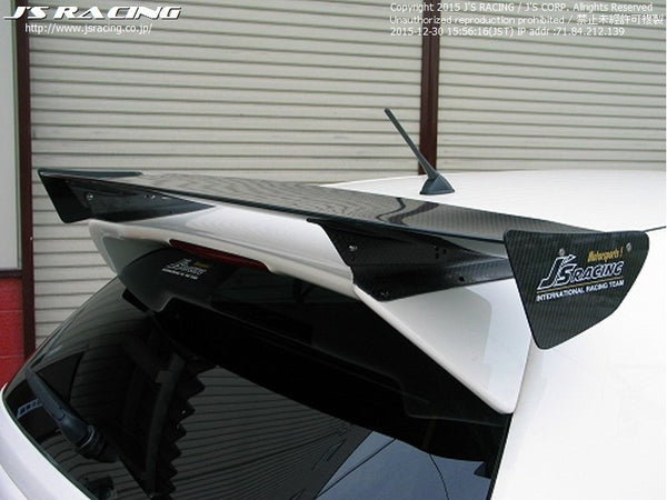 J's Racing 3D Wet Carbon GT Wings - 02-05 Civic Si (EP3)