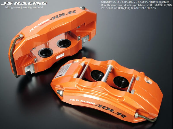 J's Racing Hyper 4OUR 4-Pot Calipers - 08+ Fit (GE8/GK5)