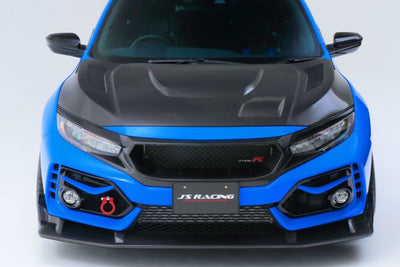 J's Racing Vented Front Sports Garnishes - 2017+ Civic Type R (FK8)