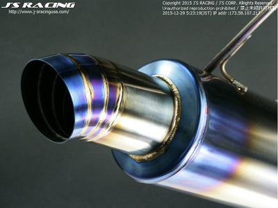 J's Racing Titanium FX-Pro Exhaust Systems - 00-09 S2000 (AP1/2)