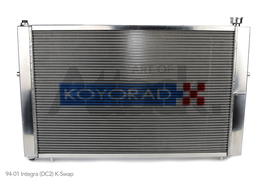 Koyo Full Size Aluminum Radiators - Honda/Acura applications