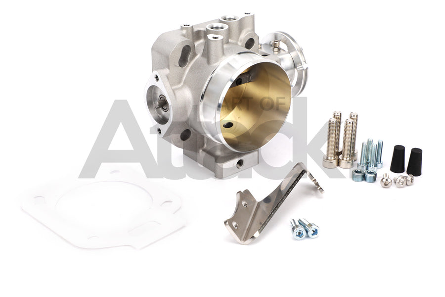 K-Tuned 70mm Cast Throttle Body Dual PRB/RBC Bolt Pattern - K-series Applications
