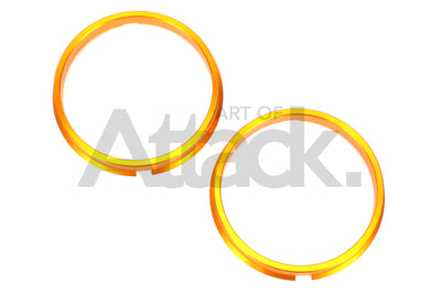 Project Kics Duralumin Hub Centric Ring (Pair) - 73mm O.D.