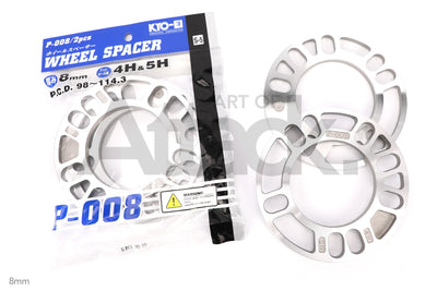 Project Kics / KYO-EL Universal Plate Spacers (3mm~10mm)