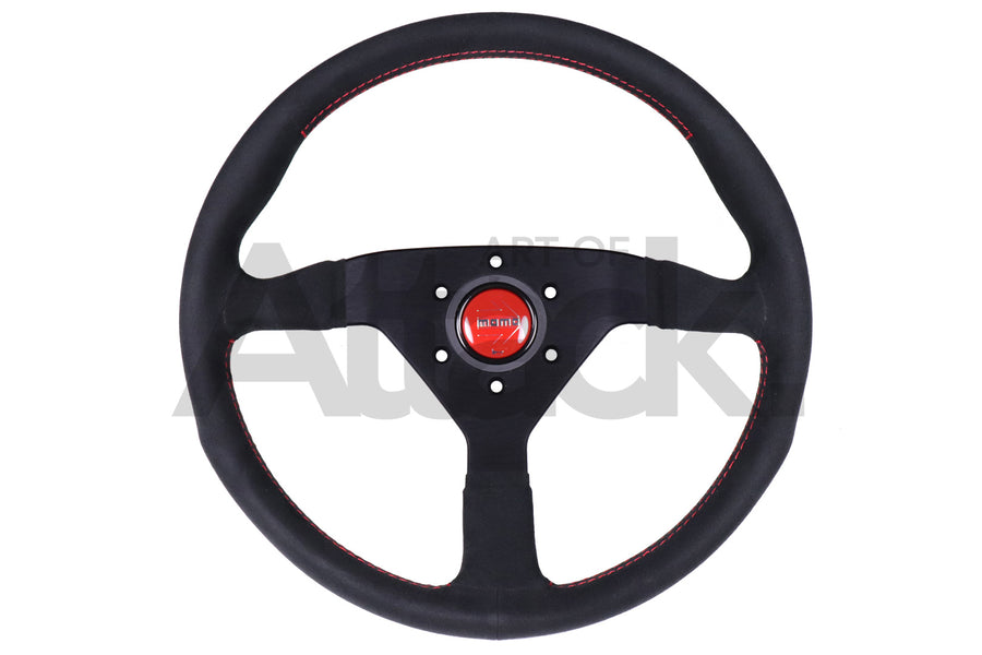Momo Monte Carlo Steering Wheel - 320 / 350mm Black Alcantara