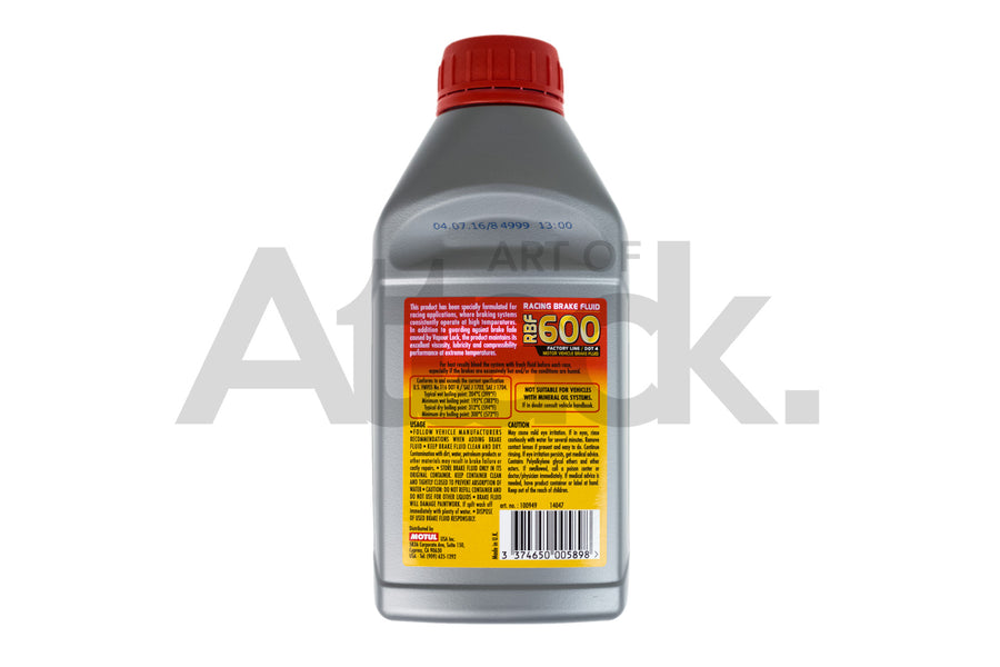 Motul RBF 600 Dot 4 Race Brake Fluid