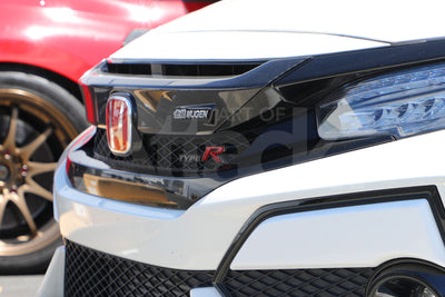 Mugen Front Grill Garnish (CFRP) - 2017+ Civic Type R (FK8)